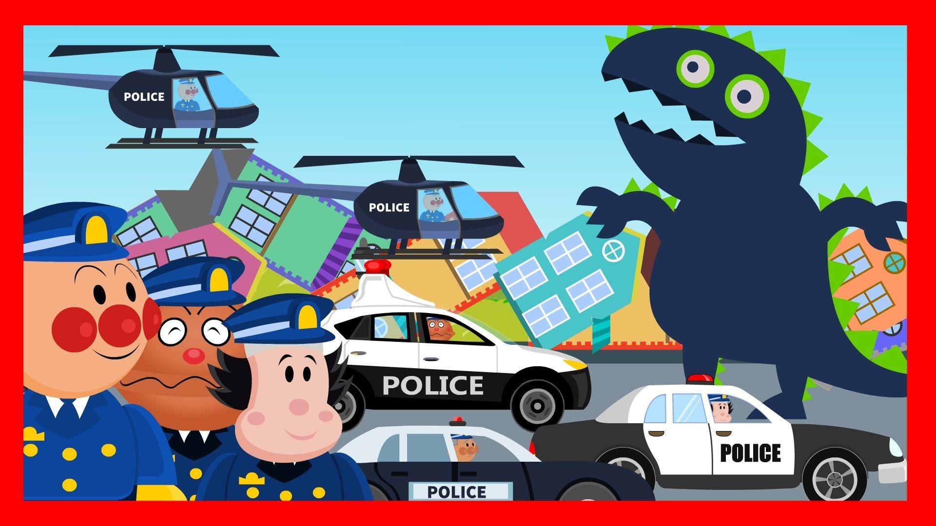 Anpanman Toys Anime Episode 30 Anpanman Police Battle