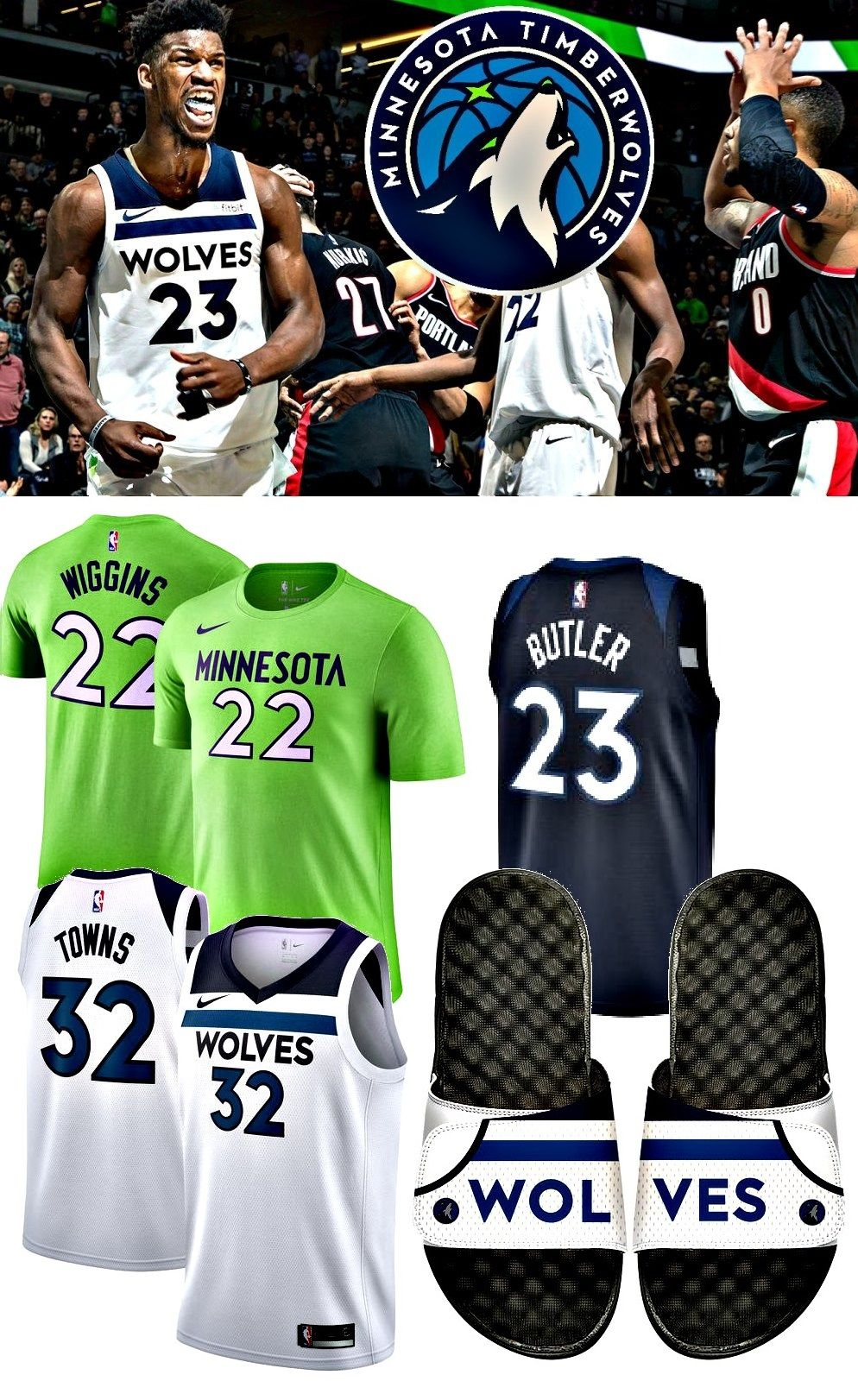 competitive price c1359 ce8c6 Minnesota Timberwolves | Apparel | Minnesota timberwolves ...