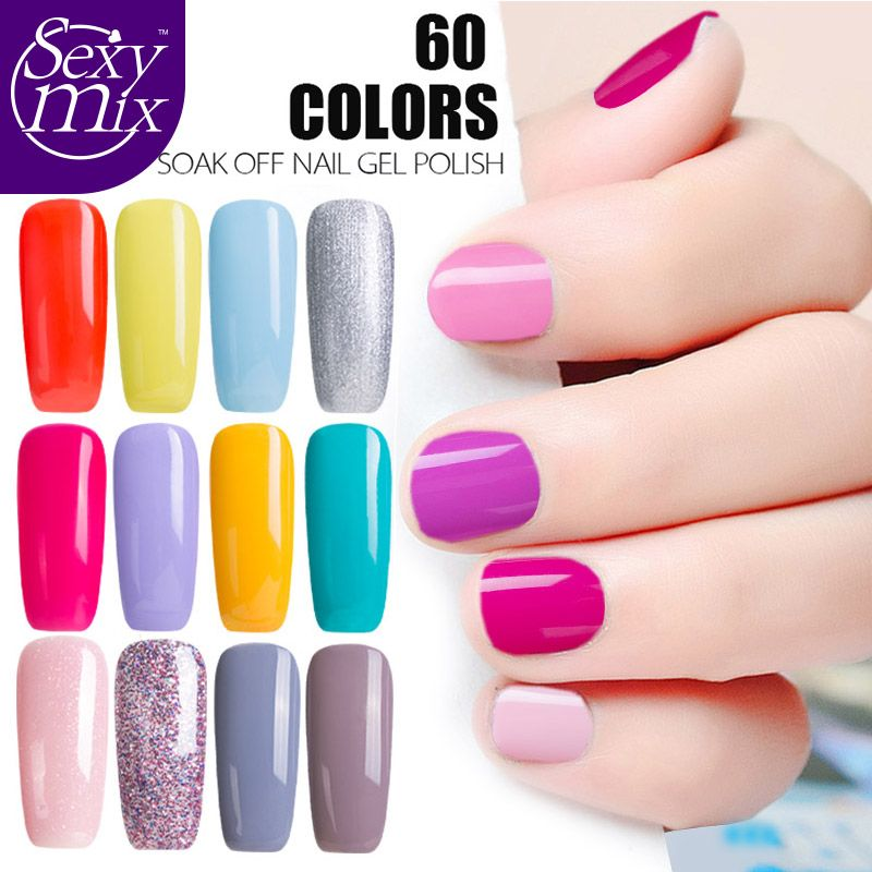 2017 Newest 9ML Fashion UV Nail Gel Gorgeous Nude Pink Color Nail ...