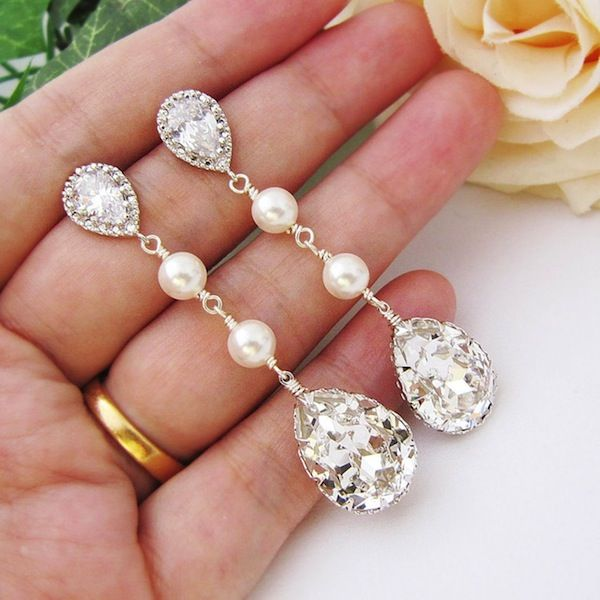 Win A Pair Of Beautiful Bridal Earrings By Earrings Nation