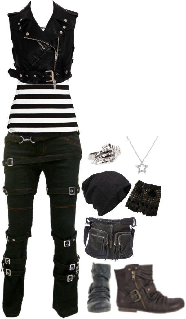 innovative punk rock outfits for girls