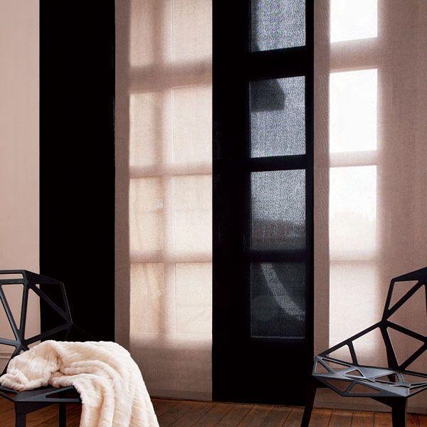 Panneaux japonais, alliance du rideau et du store | Crépuscule ...