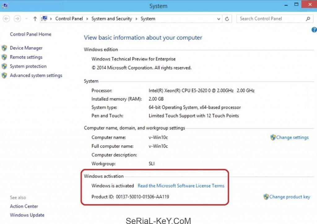 Windows 10 2019 Activation Keys For All Versions Enterprise
