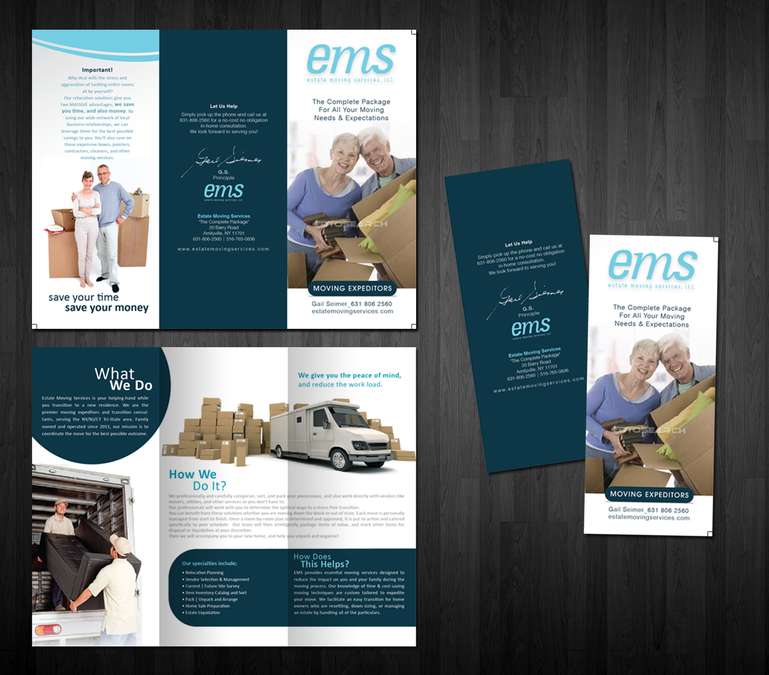 Freelance create the next brochure design for ems estate moving business cards freelance create the next brochure design for ems estate moving services llc by vectogravic colourmoves Image collections