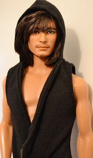 Jun-Fan: Asian Barbie Basics #15 Ken OOAK Repaint by Doll Anatomy