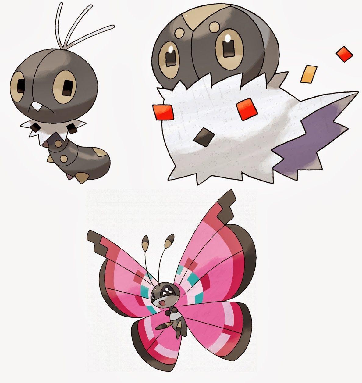 Scatterbug Spewpa Vivillon 664 666 Evolutions Pokemon Pokemon X Cards Pokémon go spewpa is a bug type pokemon with a max cp of 542 , 48 attack, 89 defense and 128 stamina in pokemon go. scatterbug spewpa vivillon 664