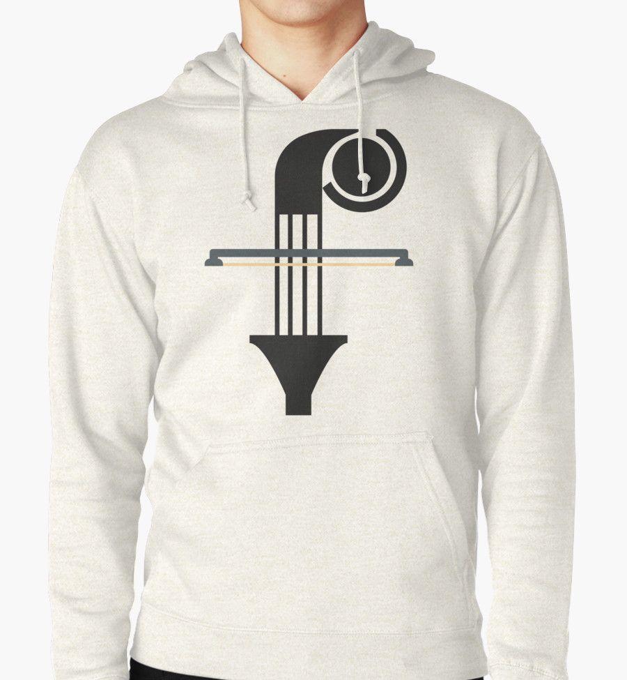 """«F is """"F""""or music» de TIERRAdesigner hoodie sudadera"""