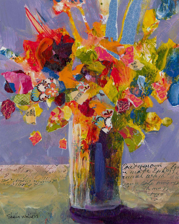 Flower Bouquet Malarstwo Martwa Natura Obrazy