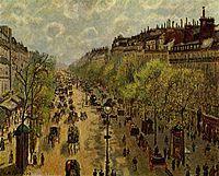 Boulevard Montmartre, primavera 1897