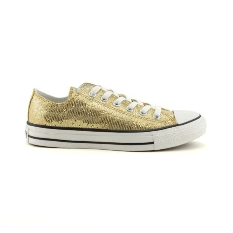 Shop for Converse All Star Lo Glitter Athletic Shoe in Gold at Journeys  Shoes. Shop