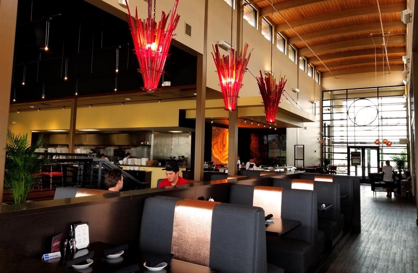 Hilton Garden Inn Crave restaurant, American kitchen