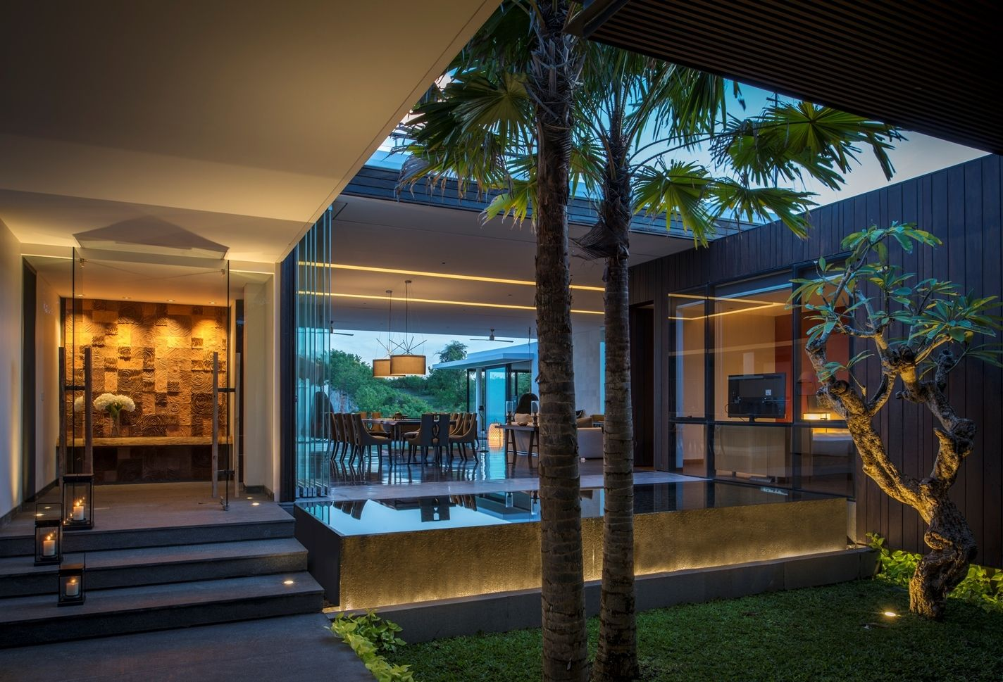 Rumah Minimalis Gaya Bali_8 | DREAMY HOUSE | Pinterest | House, Modern And  Smallest House