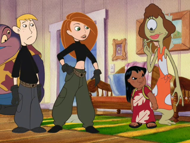 Lilo and Stitch + Kim Possible crossover episode!!!! Tht