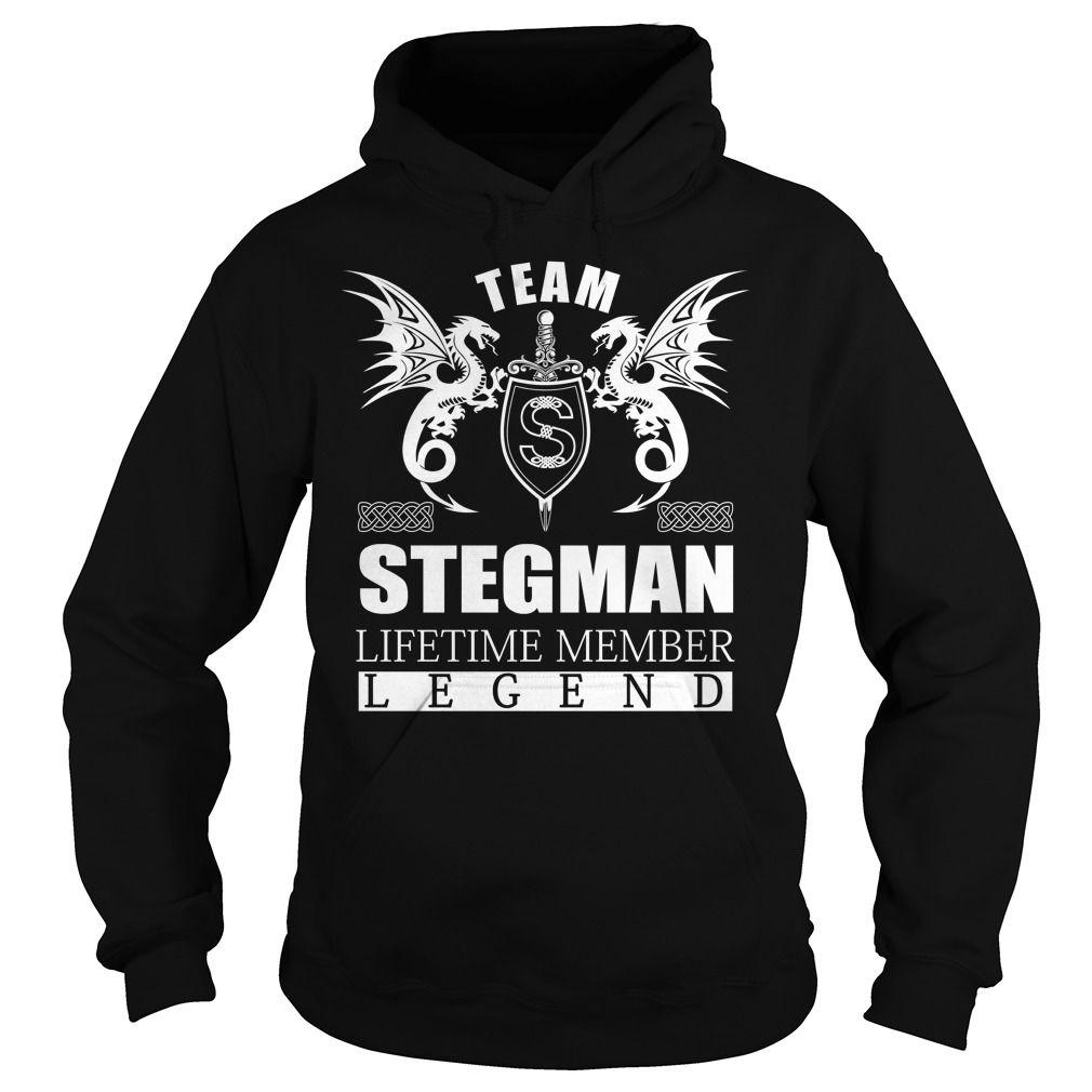 Team STEGMAN Lifetime Member - Last Name, Surname TShirts