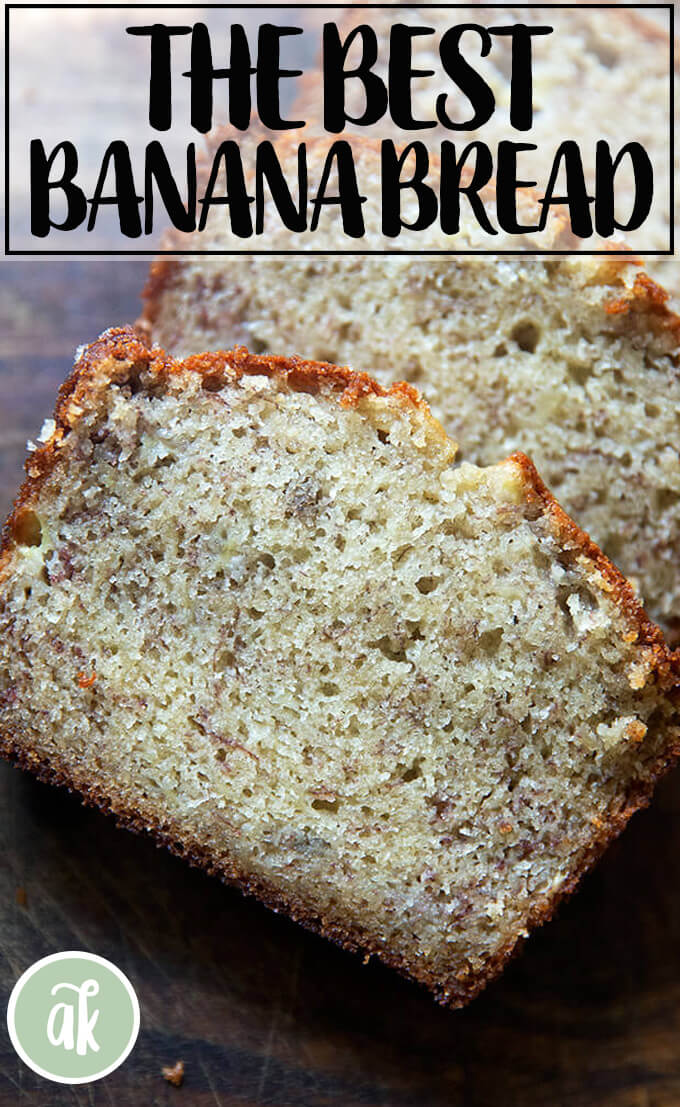 Mrs Myers S Sweet And Moist Banana Bread Alexandra S Kitchen Recipe In 2020 Best Banana Bread Banana Bread Recipe Easy Moist Easy Banana Bread Recipe