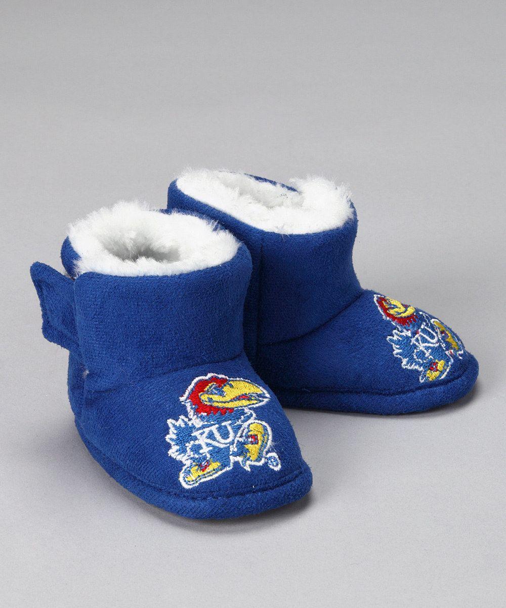 Campus Footnotes Blue Kansas Boot - Kids