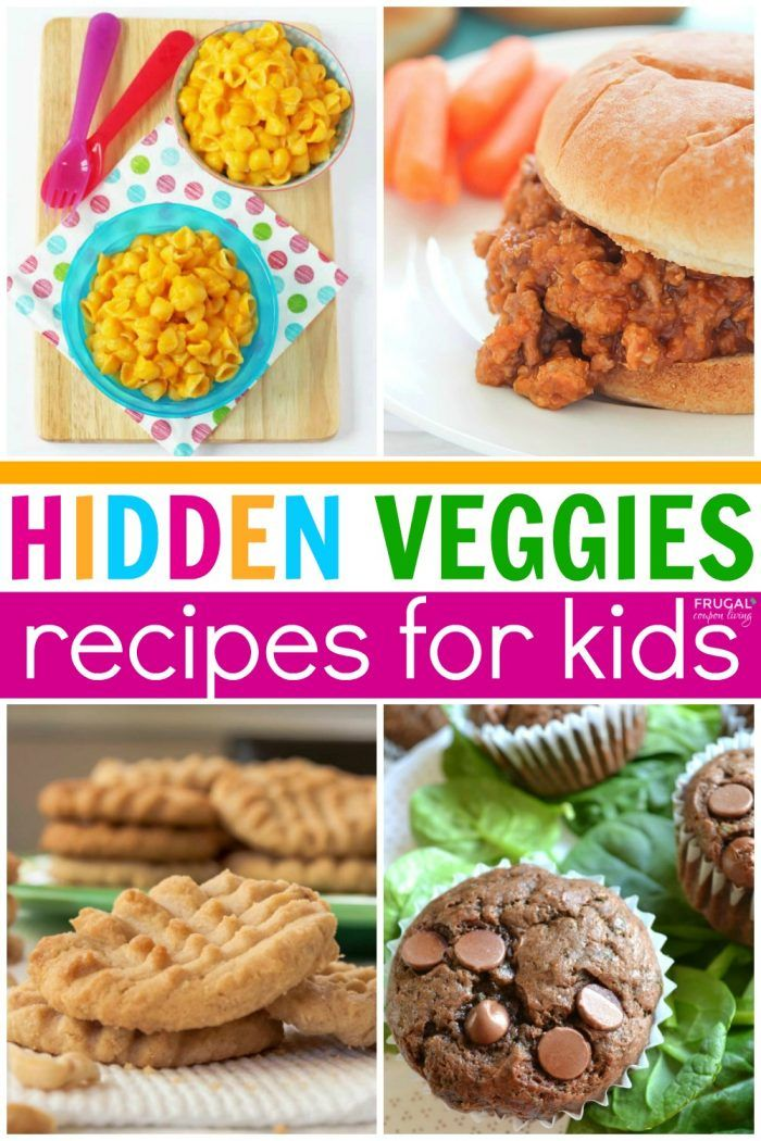Hidden Vegetable Recipes for Picky Eaters