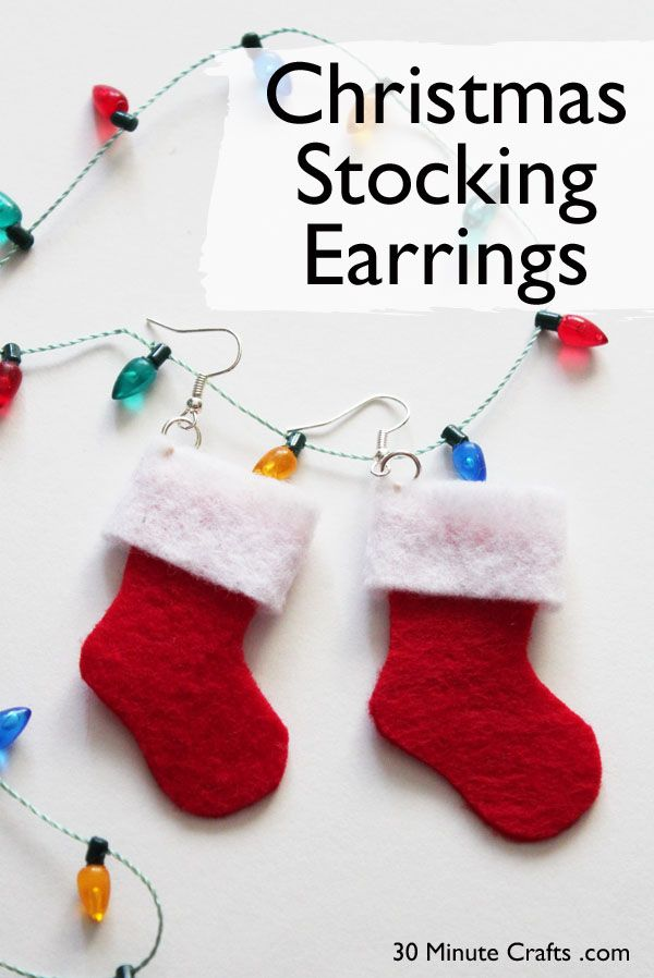 Christmas Stocking Craft Ideas Part - 18: Pinterest