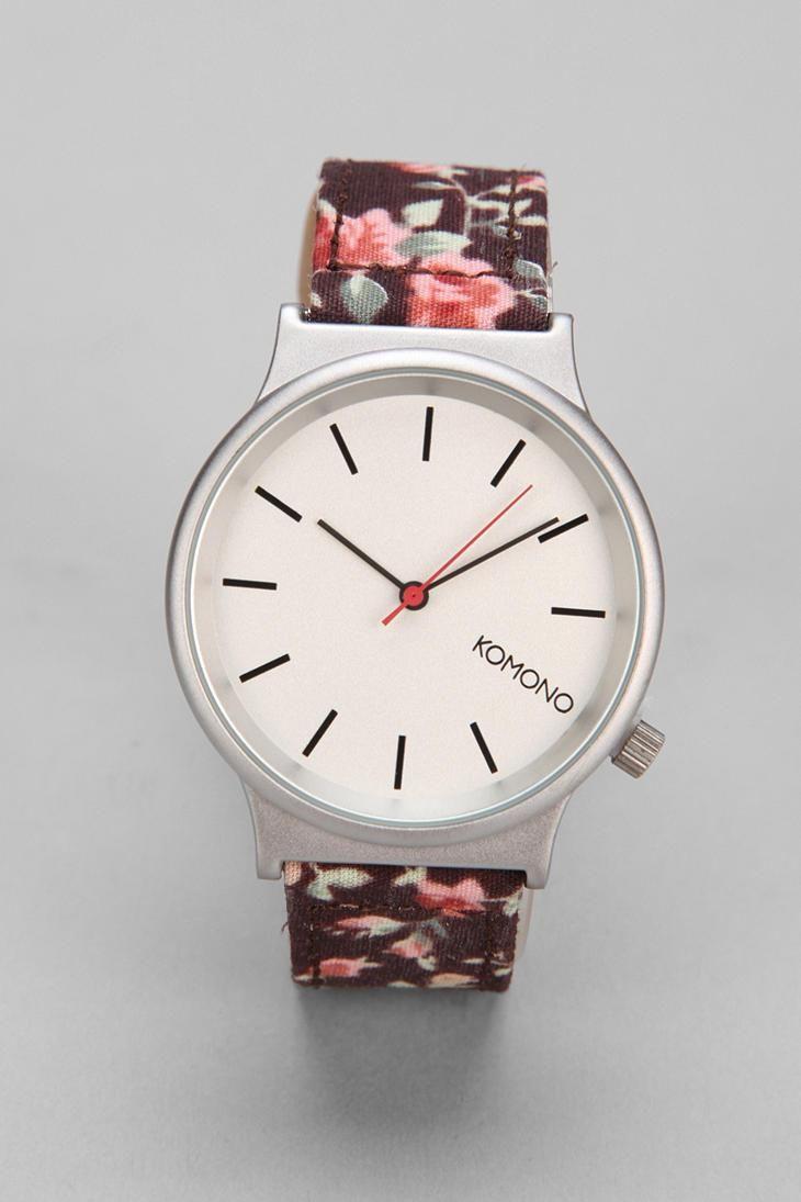 Komono Wizard Roseberry Watch #urbanoutfitters