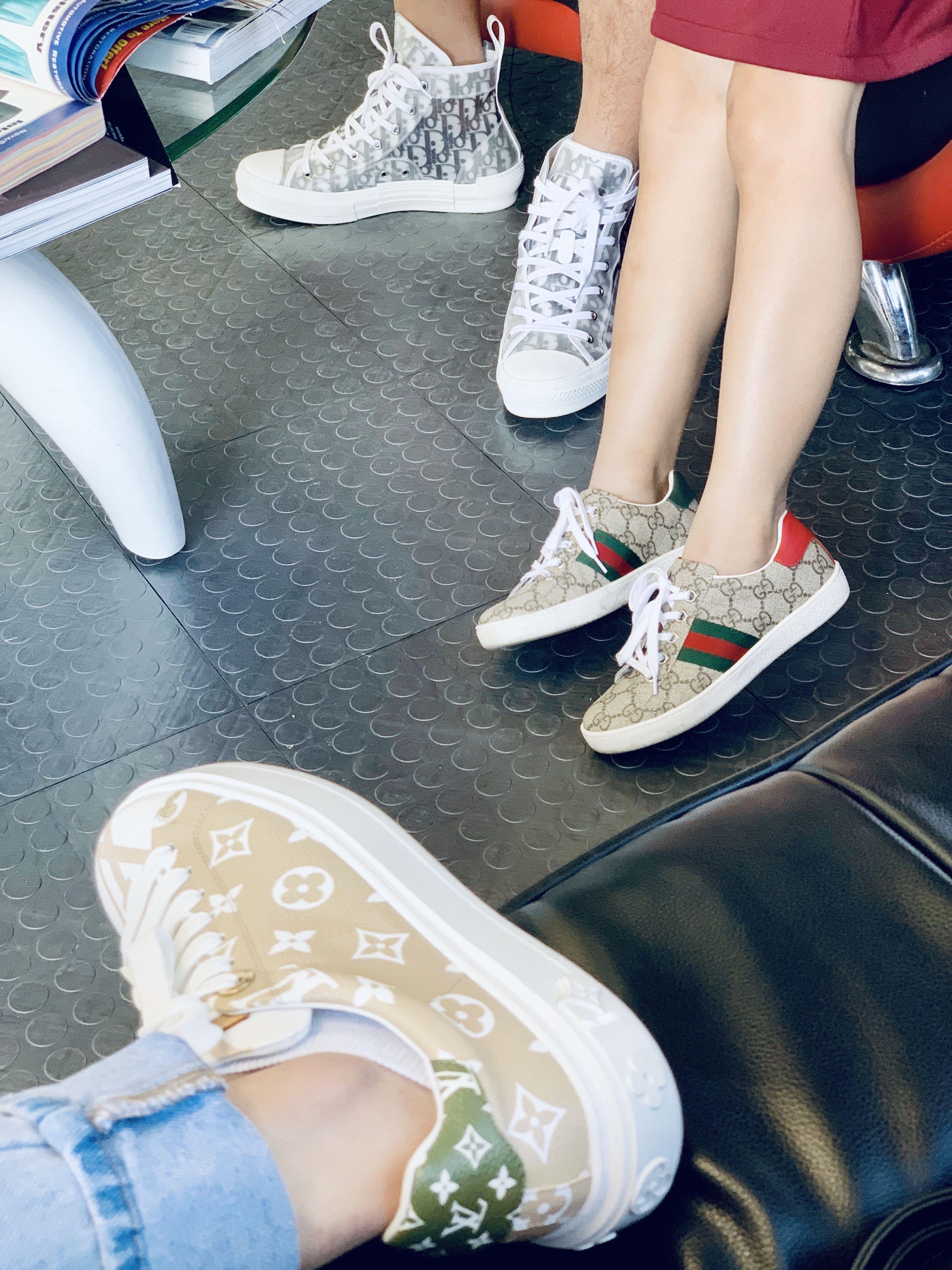 Louis Vuitton SS19 sneaker X Dior