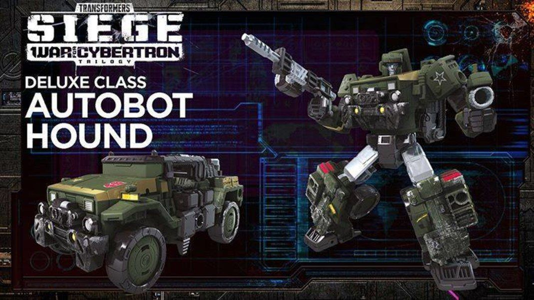 TRANSFORMERS Generations War for Cybertron Siege Deluxe Hound ACTION FIGURE NEW