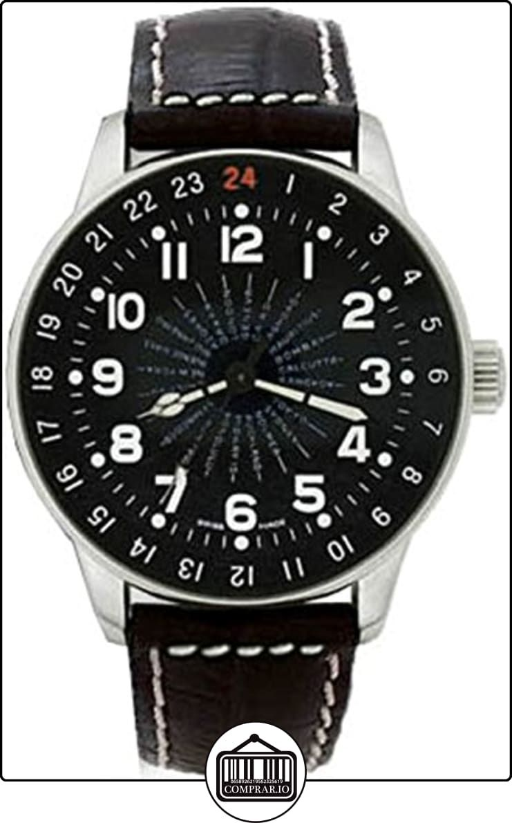 c2b7244decbf Zeno-Watch Reloj Mujer - X-Large Pilot world timer - P554WT-a1 de ✿ Relojes  para hombre - (Lujo) ✿