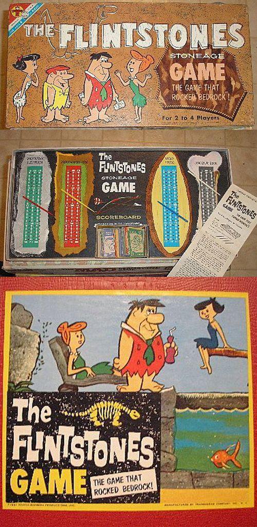 The Flintstones — The Stoneage Game that Rocked Bedrock! (1961)