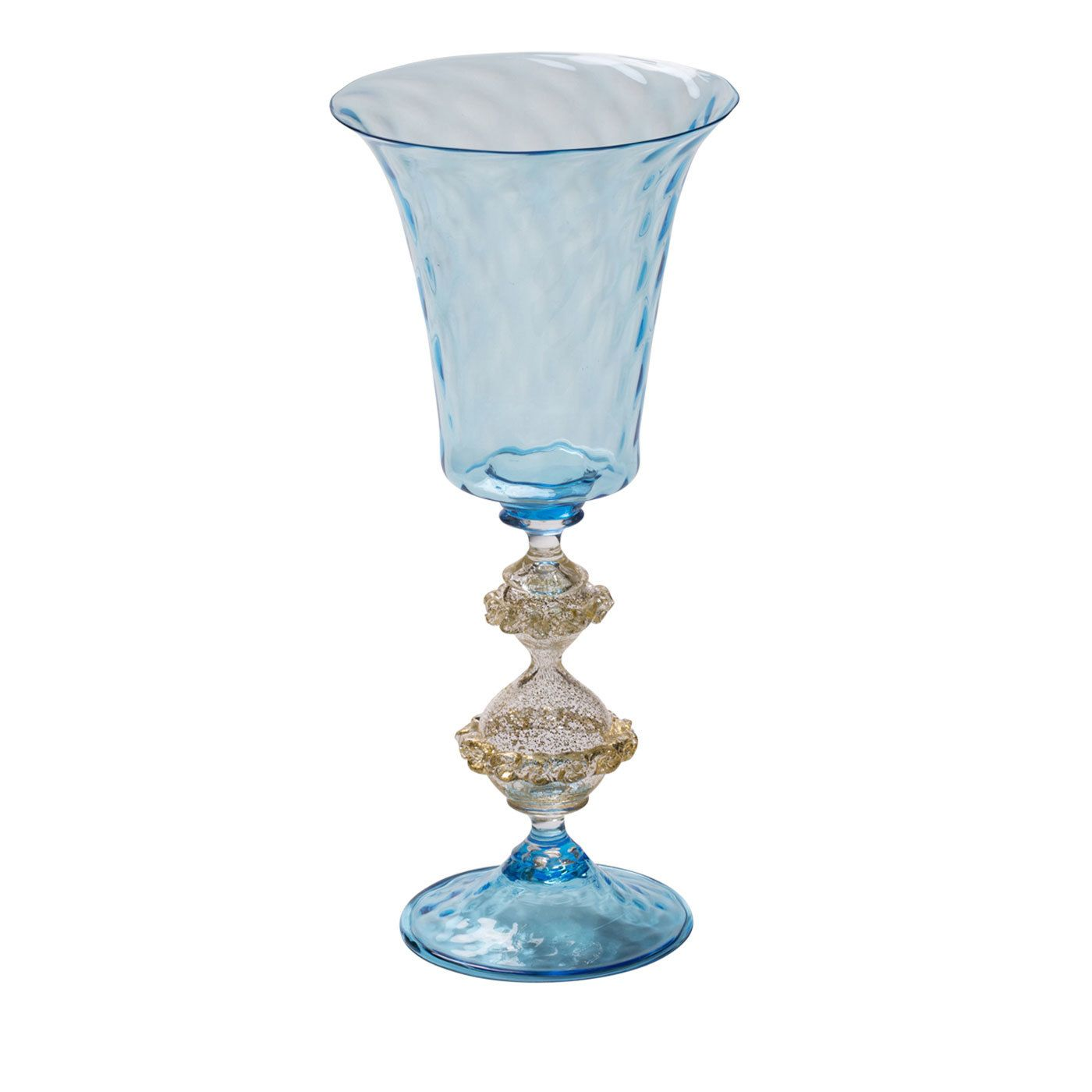 Calice Acquamare III Murano Wine Glass | Silver cutlery, Glasses ...
