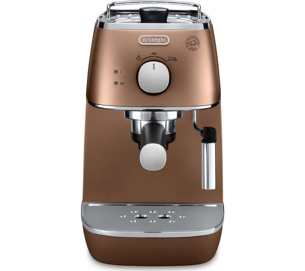 Uncategorized Delonghi Kitchen Appliances distinta eci341cp coffee machine copper delonghi copper
