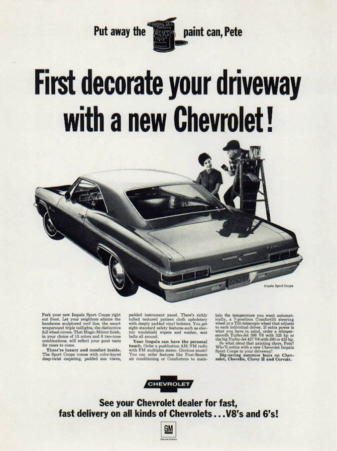 Pin Pa Chevrolet 1966