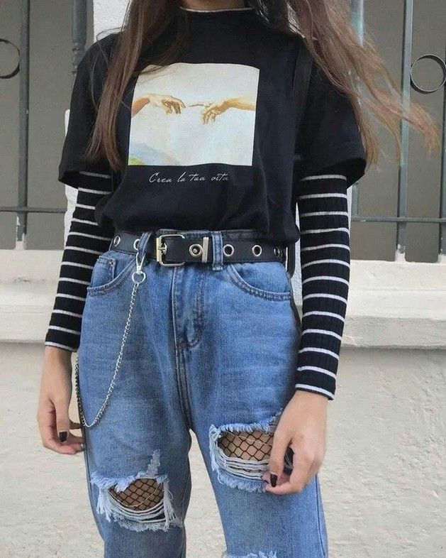 25+ Outstanding Grunge Outfits Ideas For Women #egirloutfitsideas
