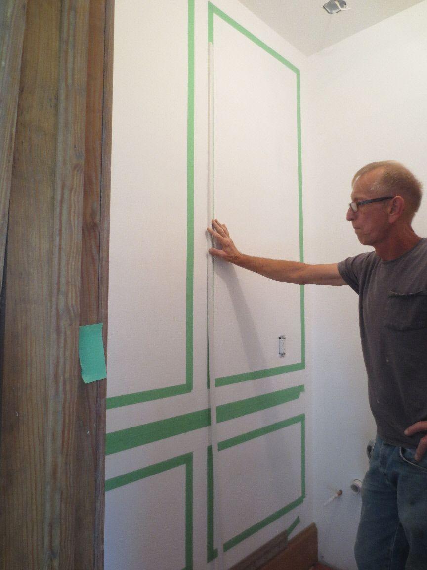 Quickie Powder Room Update | Bathrooms | Pinterest | Picture frame ...
