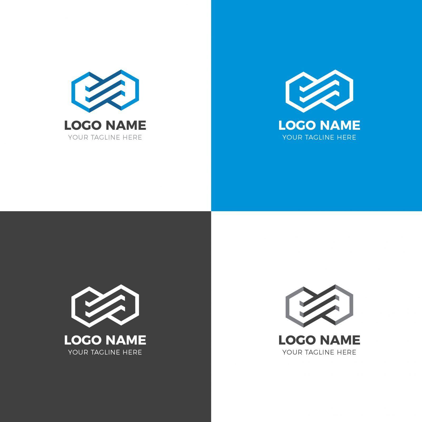 Eternal Modern Logo Design Template 001900 Template Catalog Modern Logo Design Logo Design Template Corporate Logo Design