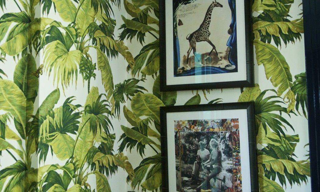 Papier peint tropical - inspiration sur The Socialite Family
