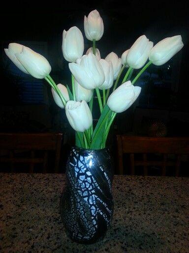 Thrown vase -by Katie Pietranek
