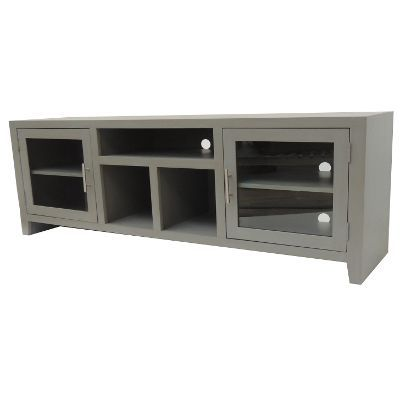 65 Inch Gray Tv Stand My New House Pinterest Living Room Room