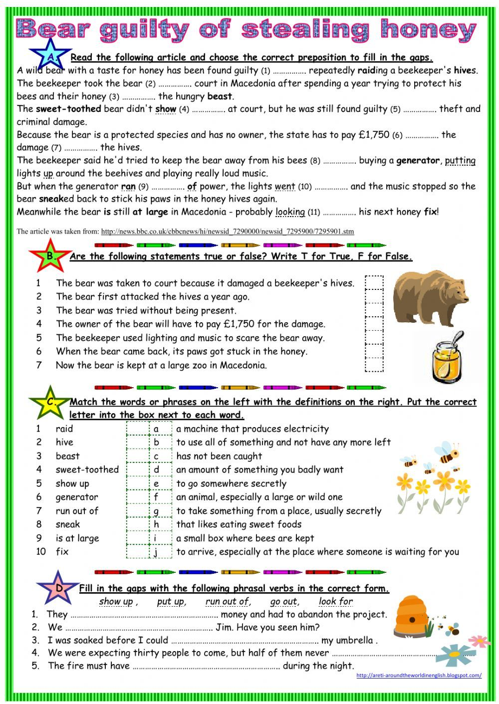 Reading comprehension interactive and downloadable worksheet. Check your  answers online or send …   Reading comprehension [ 1411 x 1000 Pixel ]