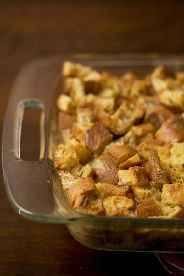 Recipe for French bread pudding - The Boston Globe