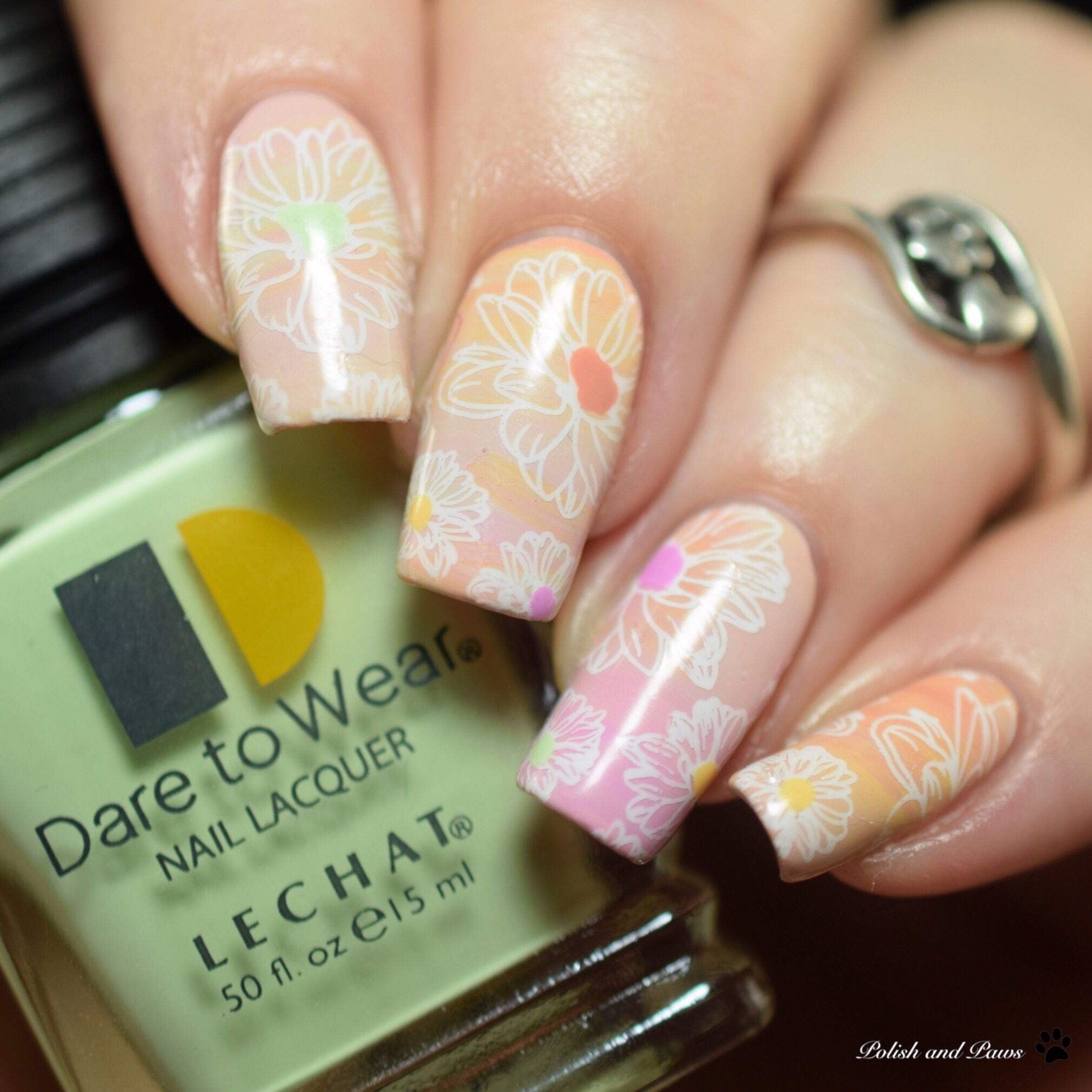 Nail Art ~ LeChat Dare to Wear English Rose Collection | Nails ...