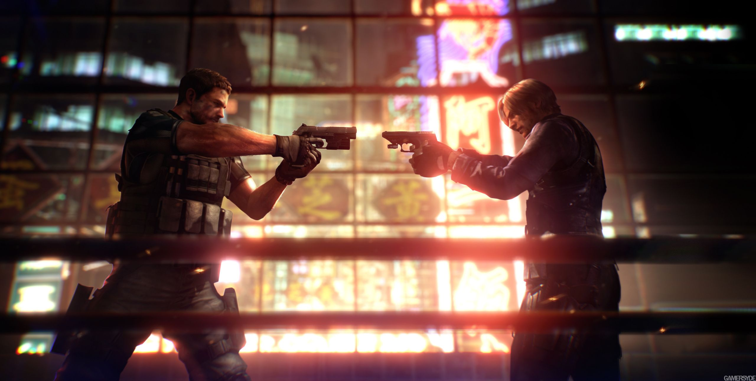 Resident Evil 6 Chris Redfield Leon Kennedy Resident Evil Residen Evil Leon Resident Evil