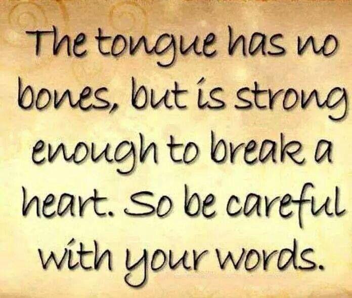 The tongue has no bones ... #LoveInRewind by Tali Alexander
