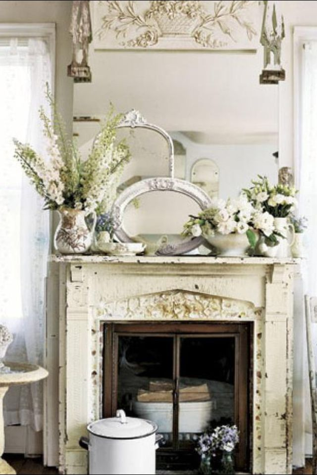 Fireplace Decoracion Pinterest Decoración