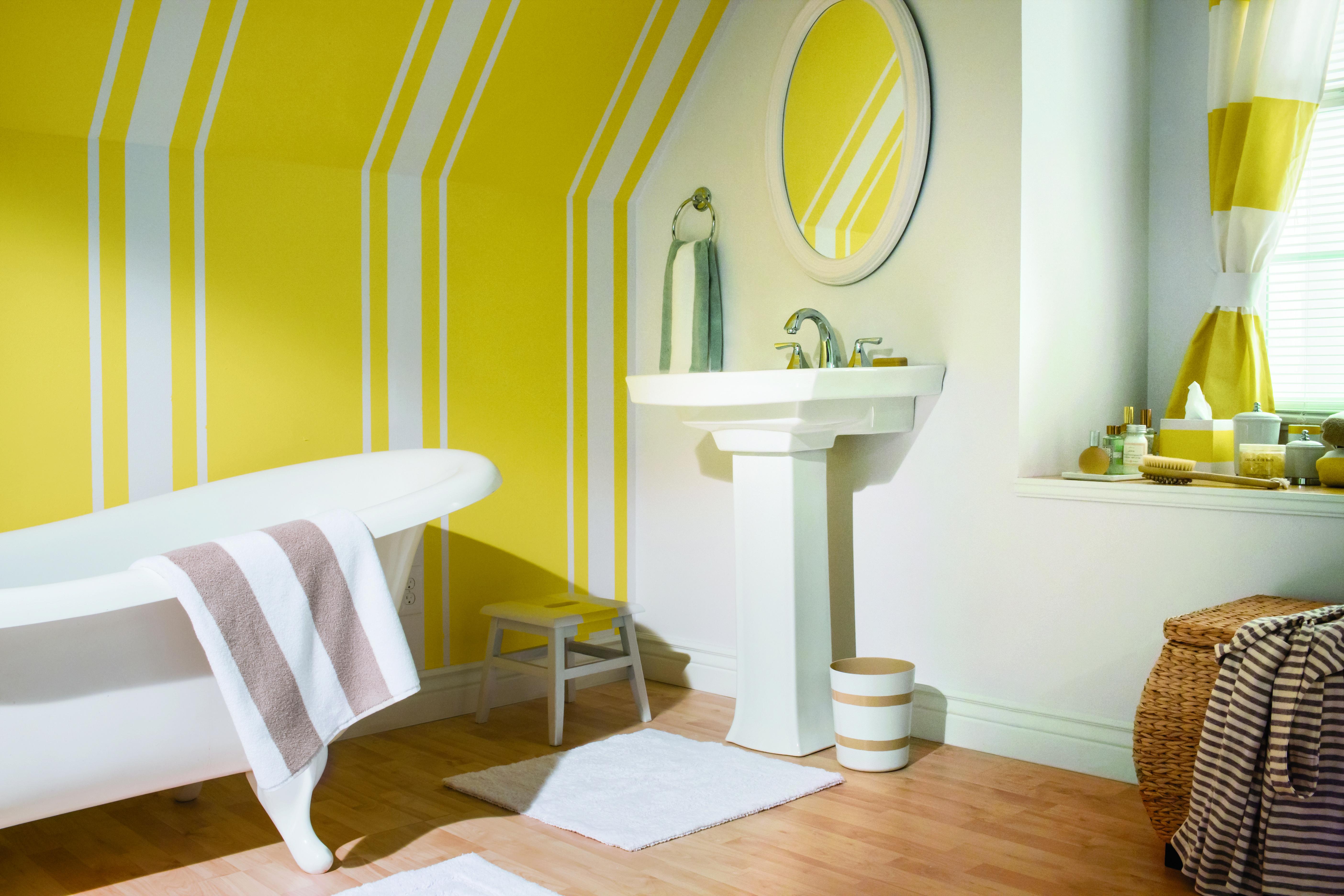 Mit Frog Tape Die Wände Im Badezimmer Zu Gestalten Ist Kein Problem.