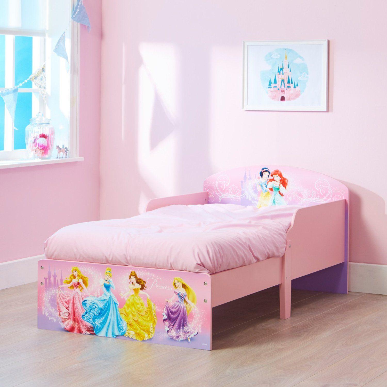 Princess Bedroom Furniture Uk Disney Princess Toddler Bed By Hellohome Amazoncouk Kitchen