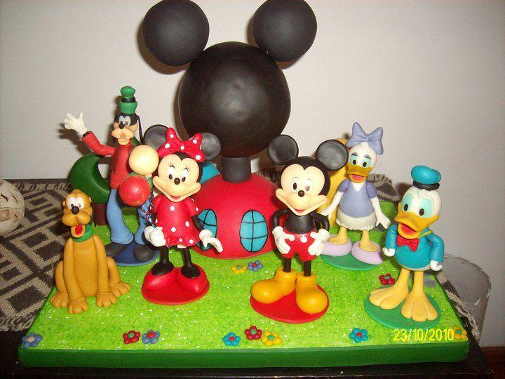 La casa de Mickey Mouse www.facebook.com/ArtesaniasAndreari