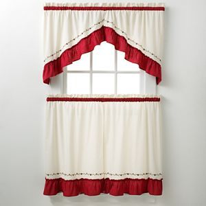 Chf And You Jayden Swag Tier Kitchen Curtains Curtains Kitchen