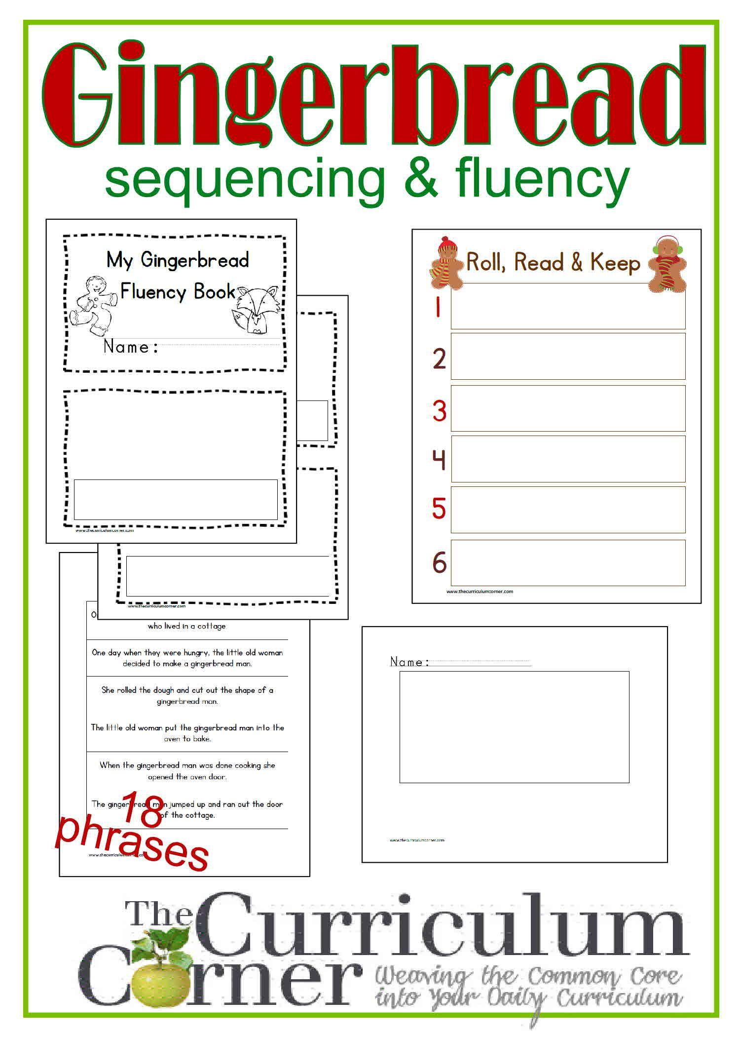 Gingerbread Fluency Sentences