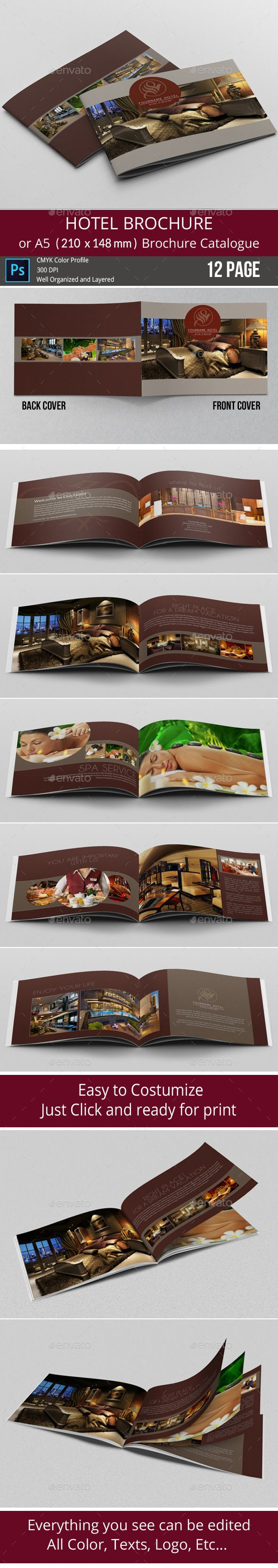 Hotel Brochure  Simple A Catalogue  Hotel Brochure Brochures