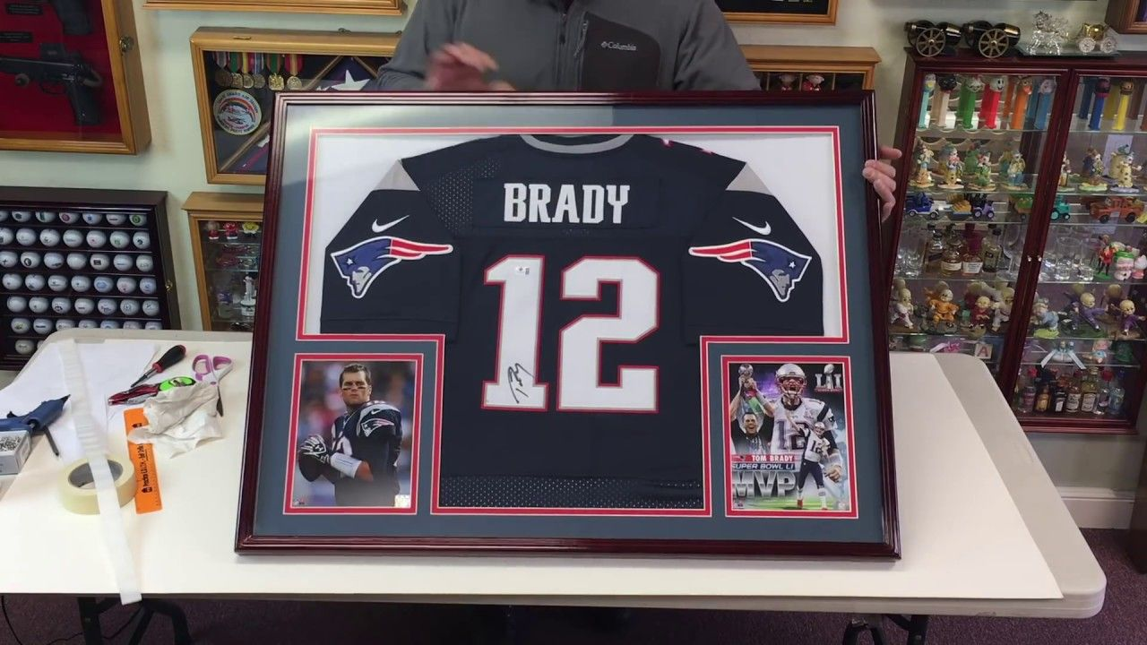 How to Professionally Frame a Football Jersey in a Sports