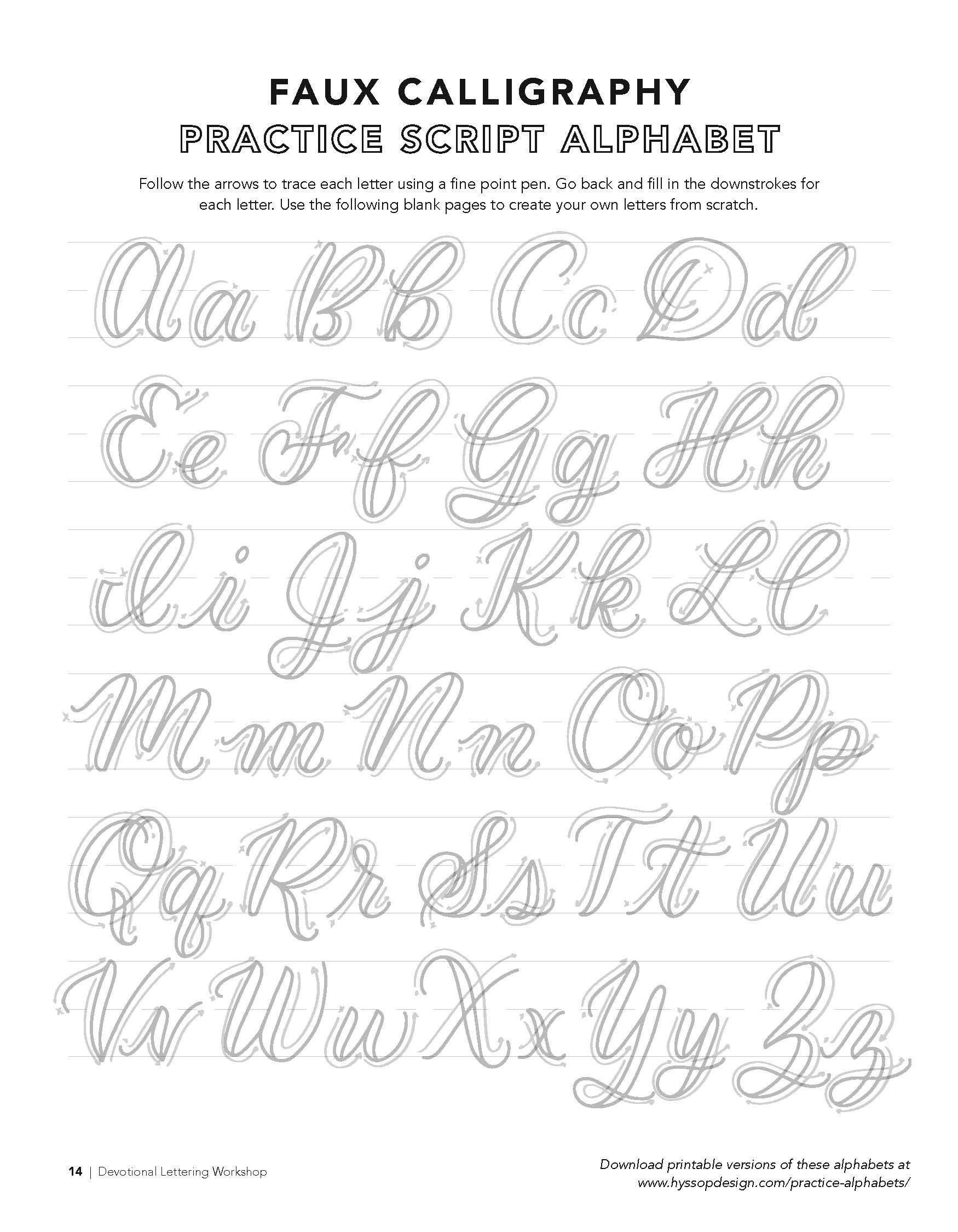Free Calligraphy Alphabets Jacy Corral Hand Lettering Alphabet Hand Lettering Worksheet Lettering Alphabet Fonts